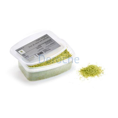 Zeste semoule de citron vert