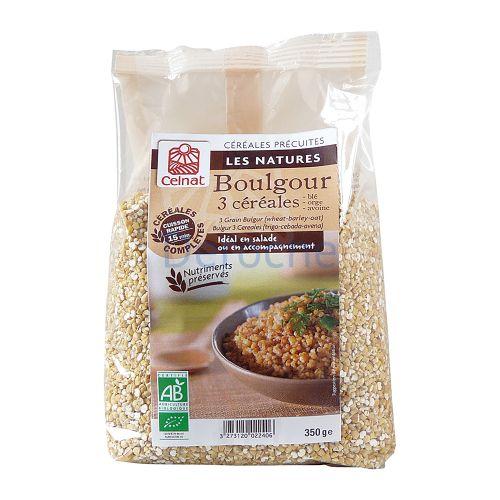 Boulgour 3 céréales bio