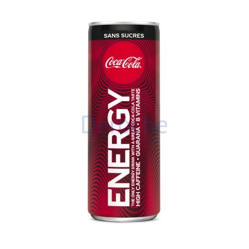 Coca cola energy sans sucre