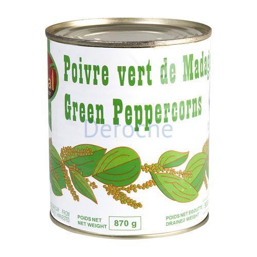 Poivre vert de madagascar
